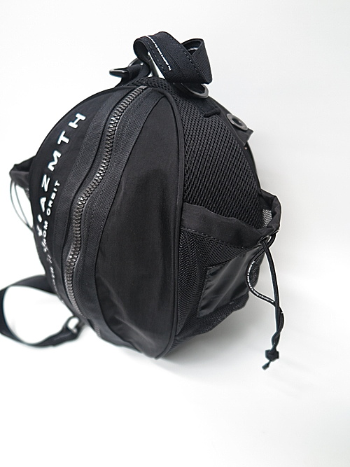 NIL/S・ニルズ/RUSSELL MESH BAG FOR UNISEX/BLACK