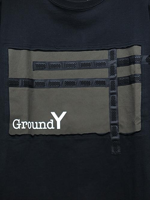 SALE40%OFF/Ground Y・グラウンドワイ・Basics Big Cut/BLACK.
