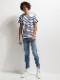 20TH RESOUND CLOTHING・リサウンドクロージング/EX denim jersey  line PT/LIND