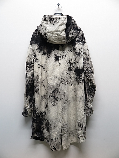 KMRii・ケムリ/Cotton Tie Dye Parachute Mods Coat/ONE