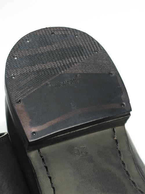 Portaille・ポルタユ/M31 babouche slipon tanned horse : Black