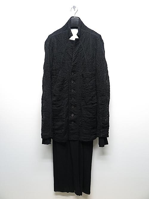 nude:masahiko maruyama ・ヌード:マサヒコマルヤマ/Layered Long Cardigan/Black