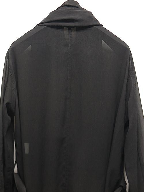(予約品)5月入荷予定/kiryuyrik・キリュウキリュウ/YOURYU Stoal Shirts/Black