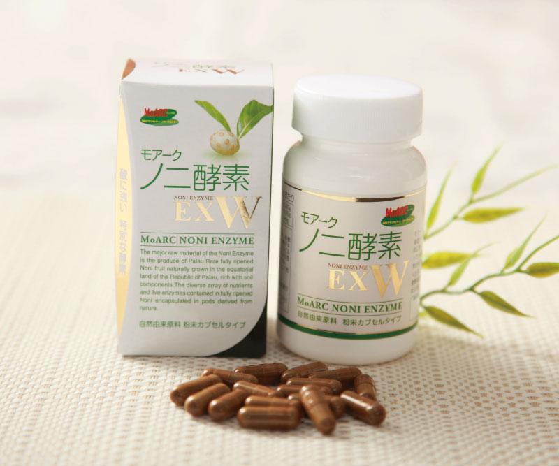 ノニ酵素EXW(90粒入り)【3つの活性酵素】
