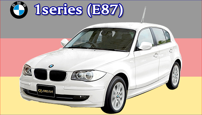 BMW 1シリーズ E87 専用フロアーマット YSMAT300