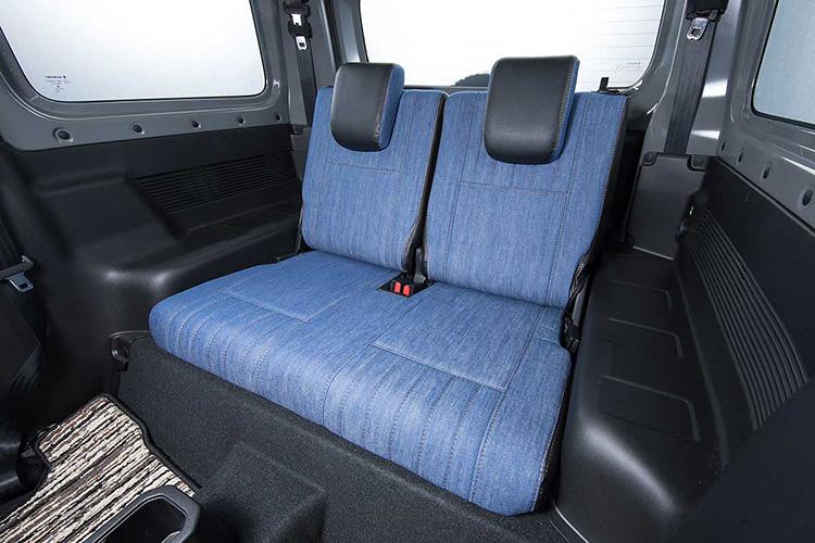 DA17W エブリイ ワゴン専用 シートカバー 1台分 grace グレイス M.I.C デニム MIC-S032