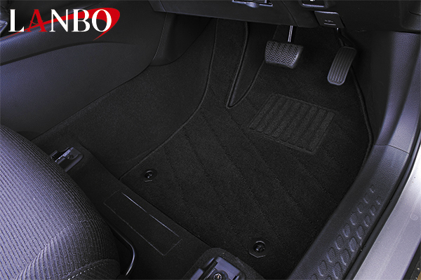 【LANBO】トヨタ ZYX10 C-HR ハイブリッド車 専用 デザイン フロアマット LFM0271