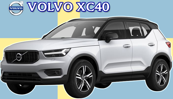 VOLVO XB420XC XC40専用 スタンダード フロアーマット YSMAT620