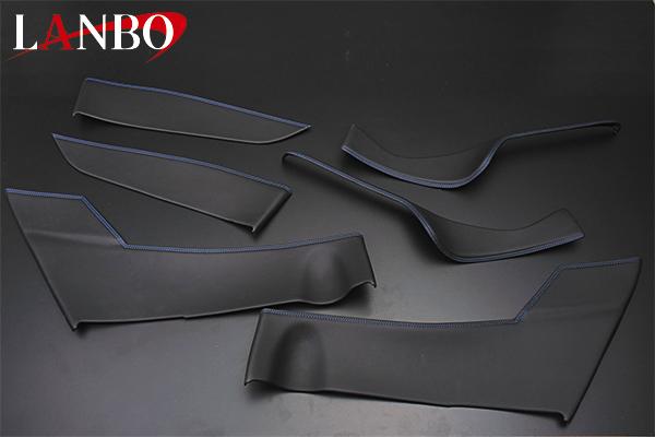 【LANBO】トヨタ C-HR専用 ドアレザーパネル 6ピースセット LDP-CHR