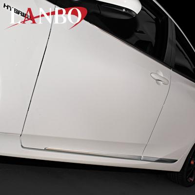 【LANBO】トヨタ 50系 プリウス専用 サイドドアガーニッシュ L50PRI-E014