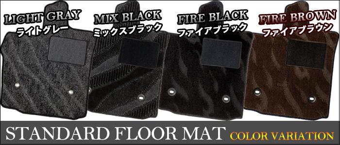 MINI R56 3ドア専用フロアーマット+ラゲッジマットセット YMAT101