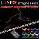 アンビエント ライト システム LANBO 汎用品 アクリルファイバーLED LEDフットライト WD-ALS-001