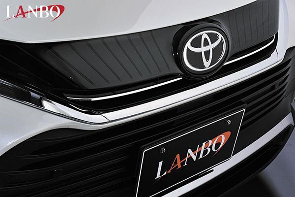 トヨタ 80系 ハリアー専用 LANBO フロントグリルガーニッシュ WD102504