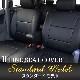 HONDA GK系 フィット / フィットハイブリット 2列目アームレスト有り車 専用 M LINE シートカバー スタンダード モデル COMS3904