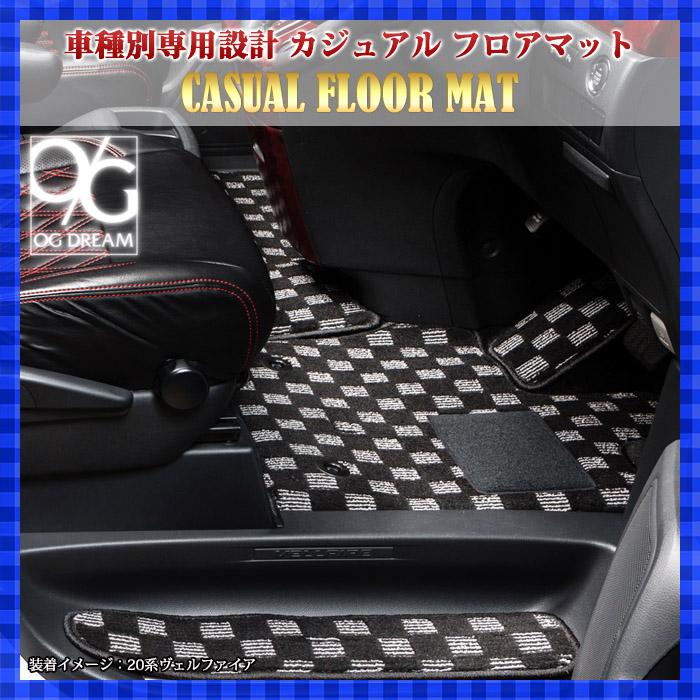 ダイハツ LA800系 ムーブキャンバス 専用カジュアル フロアマット BSMAT680