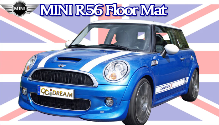 MINI R56 3ドア専用フロアーマット YSMAT101