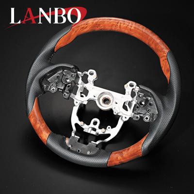 【LANBO】トヨタ 50系 プリウス専用 オリジナル コンビステアリング LS18#
