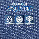 JB64W ジムニー JB74W ジムニーシエラ専用 シートカバー 1台分 grace グレイス M.I.C デニム MIC-S090