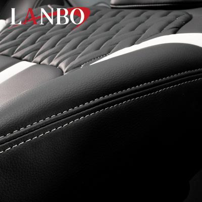【LANBO】トヨタ NGX50 C-HR ガソリン車 専用 シートカバー LUXE1714