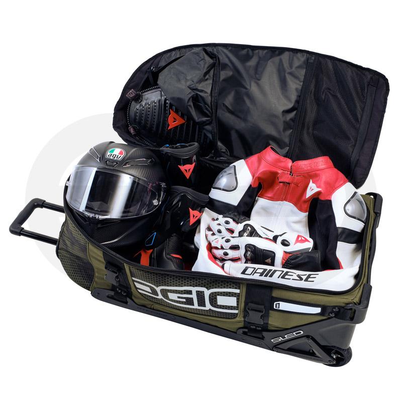 RIG 9800 WHEELED BAG GREEN MATRIX