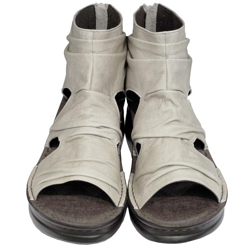 《Put's プッツ》40501 40505&《SPORTS NINE スポーツナイン》4050 グレージュ【会員登録で送料無料&ポイント10%!】 足に吸いつくようなはきごこち! 外反母趾にやさしいゆったり幅のEEE ラウンドトゥのナチュラルスタイルのサマーブーツです