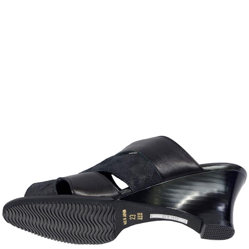 FIZZ REEN フィズリーン 0610 ブラック【会員登録で送料無料&ポイント10%!】魅せるデザインと歩きやすく痛くならない信頼の日本製レディースシューズ・ブランド 気軽に履けるミュールです