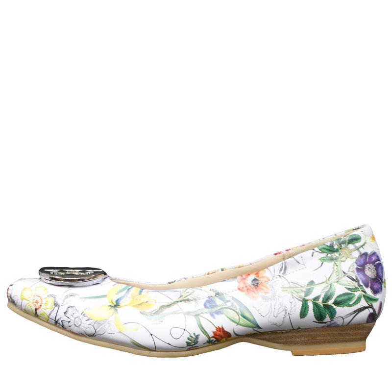 《FIZZ REEN フィズリーン》 300 フラワー【会員登録で送料無料&ポイント10%!】 魅せるデザインと歩きやすく痛くならない信頼の日本製レディースシューズ・ブランド ゆったり幅のEEE メタルがポイントの大人気バレエ フラットシューズです