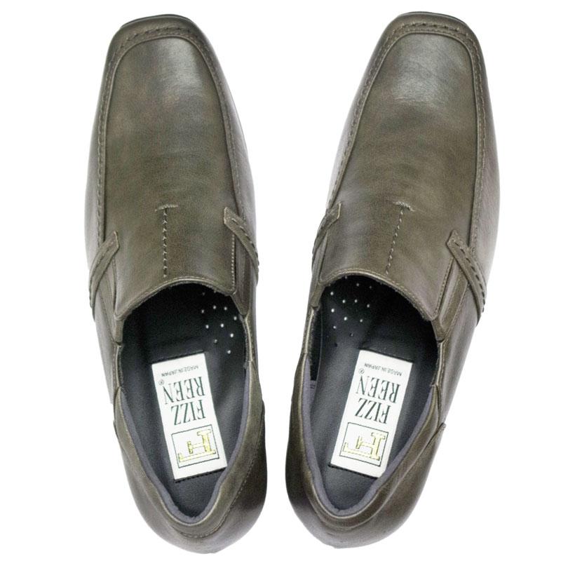 FIZZ REEN & SPORTS NINE 2408 グレー(チャコール)【会員登録で送料無料&ポイント10%!】 魅せるデザインと歩きやすく痛くならない信頼の日本製レディースシューズ・ブランド 定番的人気のはきやすいカジュアルシューズです