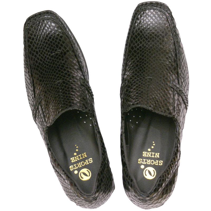 FIZZ REEN & SPORTS NINE 2408 黒ヘビ【会員登録で送料無料&ポイント10%!】 魅せるデザインと歩きやすく痛くならない信頼の日本製レディースシューズ・ブランド 定番的人気のはきやすいカジュアルシューズです
