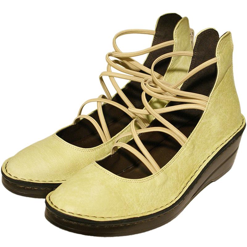 《Put's プッツ》3231 ミント【会員登録で送料無料&ポイント10%!】 Put'sは足もとと人を美しくするレディースシューズ・ブランド ゆったり幅のEEE フェミニンなレースブーツです