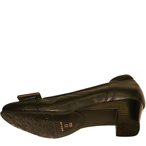 《FIZZ REEN フィズリーン》1636 ブラック【会員登録で送料無料&ポイント10%!】 魅せるデザインと歩きやすく痛くならない信頼の日本製レディースシューズ・ブランド ゆったりEEEのパンプスです