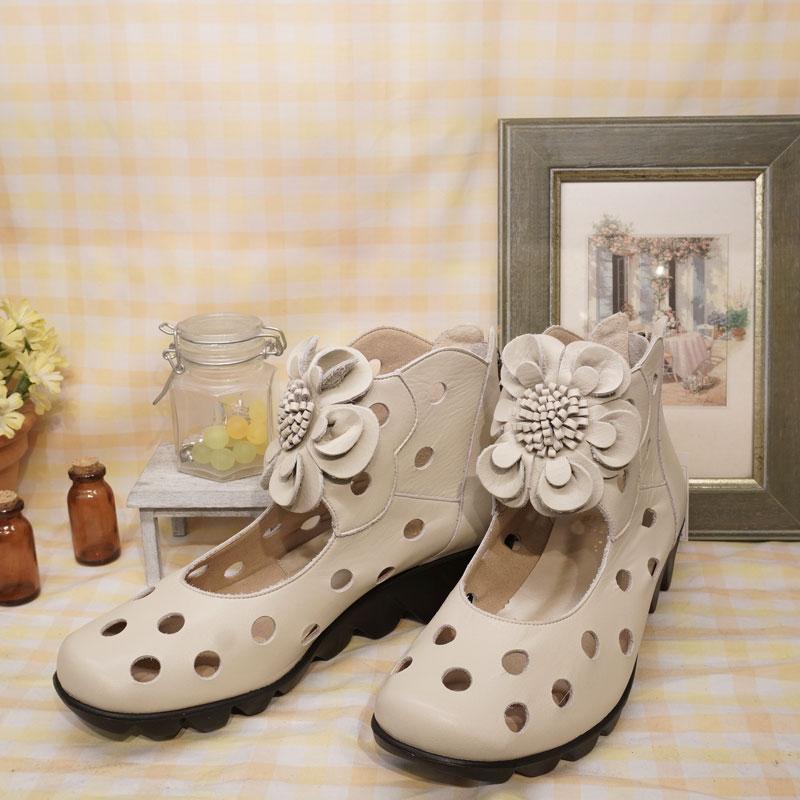 《FIZZ REEN フィズリーン》 1250 グレージュ【会員登録で送料交換無料&ポイント10%!】 魅せるデザインと歩きやすく痛くならない信頼の日本製レディースシューズ・ブランド 大人がはくコサージュつきのかわいい靴です