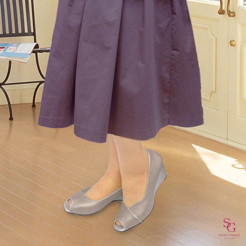 FIZZ REEN フィズリーン 7101 オーク【会員登録で送料無料&ポイント10%!】 魅せるデザインと歩きやすく痛くならない信頼の日本製レディースシューズ・ブランド オープントゥの人気デザインモデルです