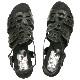 FIZZ REEN フィズリーン 5514 ブラック【会員登録で送料無料&ポイント10%!】魅せるデザインと歩きやすく痛くならない信頼の日本製レディースシューズ・ブランド ソフトレザーのおしゃれサンダルです