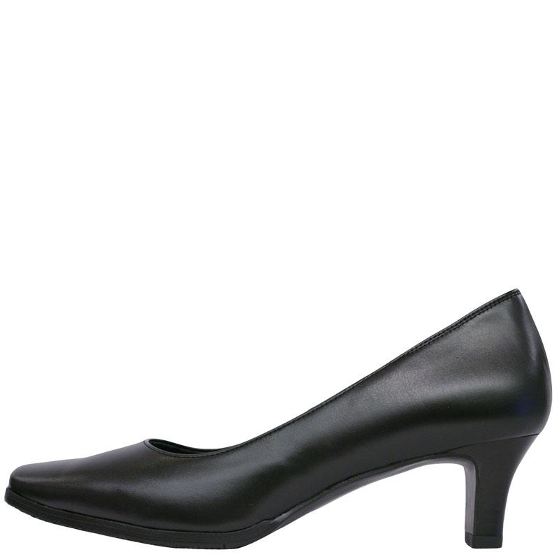 FIZZ REEN フィズリーン 5025 ブラック【会員登録で送料無料&ポイント10%!】 魅せるデザインと歩きやすく痛くならない信頼の日本製レディースシューズ・ブランド 履きやすさに定評のFIZZ REEN新作パンプスです