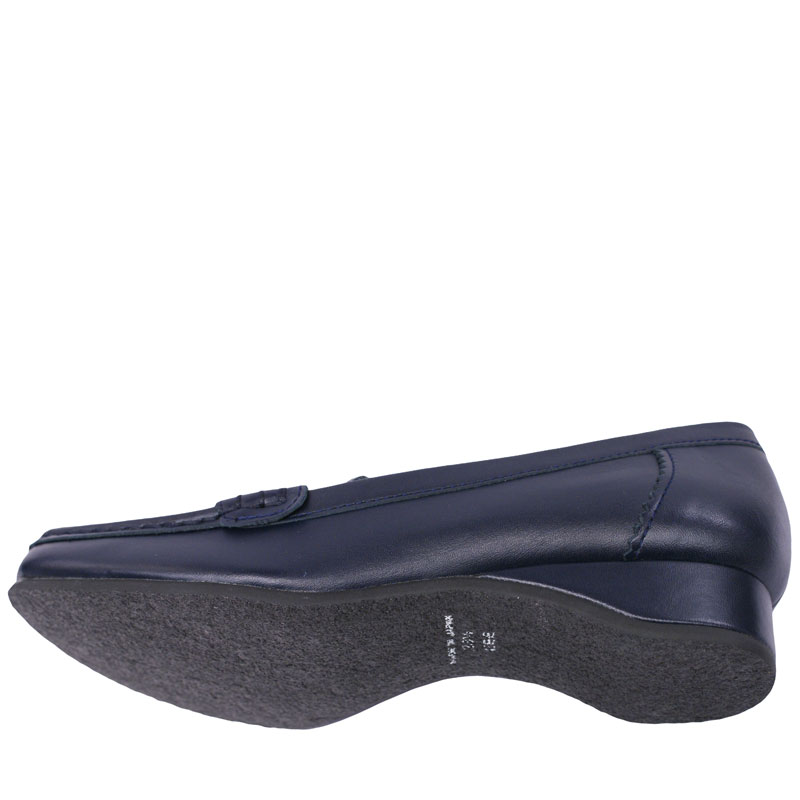 FIZZ REEN フィズリーン 1820 ネイビー 【会員登録で送料無料&ポイント10%!】 魅せるデザインと歩きやすく痛くならない信頼の日本製レディースシューズ・ブランド 少し高さのあるおとなモカシン