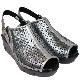 FIZZ REEN フィズリーン 80013 シルバー【会員登録で送料無料&ポイント10%!】 魅せるデザインと歩きやすく痛くならない信頼の日本製レディースシューズ・ブランド EEEE幅ゆったりで厚めソールが気持ちいいサンダルです
