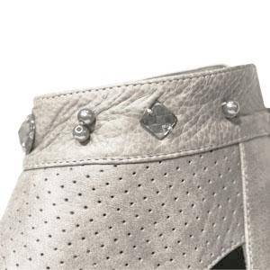 FIZZ REEN フィズリーン 2100 グレー 魅せるデザインと歩きやすく痛くならない信頼の日本製レディースシューズ・ブランド ゆったり幅のEEE