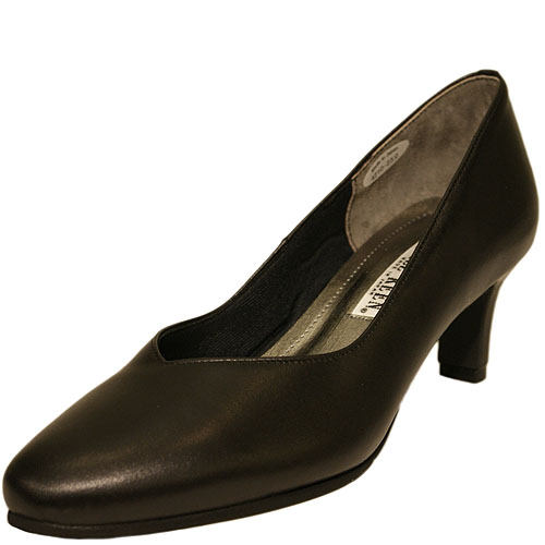 FIZZ REEN フィズリーン 4210 ブラック【会員登録で送料無料&ポイント10%!】魅せるデザインと歩きやすく痛くならない信頼の日本製レディースシューズ・ブランド EEEワイズの履きやすいおしゃれパンプスです