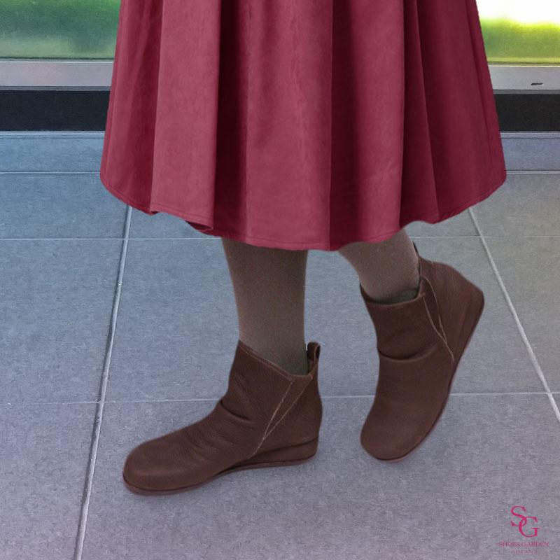 《SPORTS NINE スポーツナイン》9803 チョコ   魅せるデザインと歩きやすく痛くならない信頼の日本製レディースシューズ・ブランド