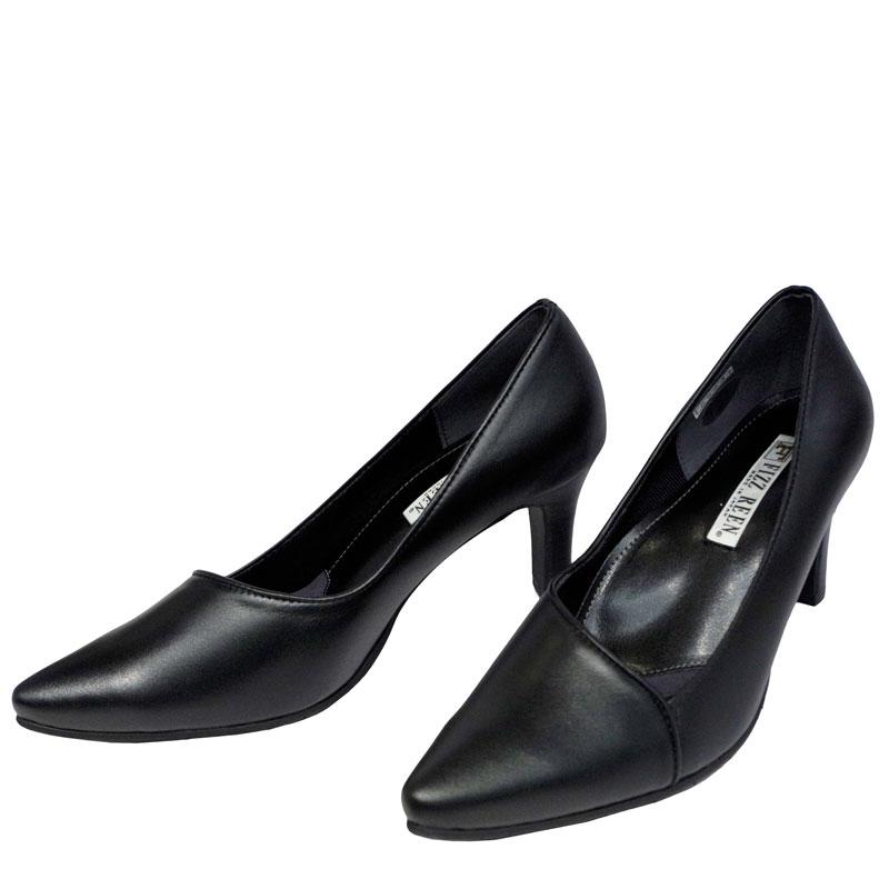 FIZZ REEN フィズリーン 8523 ブラック【会員登録で送料無料&ポイント10%!】魅せるデザインと歩きやすく痛くならない信頼の日本製レディースシューズ・ブランドのおすすめハイヒールです