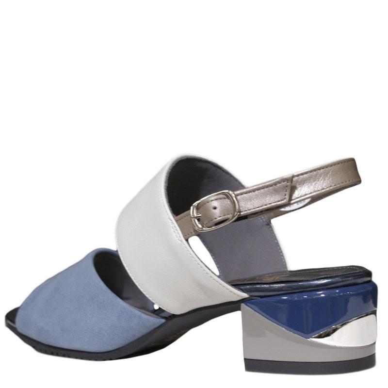 FIZZ REEN フィズリーン 8181 ブルー【会員登録で送料無料&ポイント10%!】魅せるデザインと歩きやすく痛くならない信頼の日本製レディースシューズ・ブランド バイカラーのおしゃれサンダルです