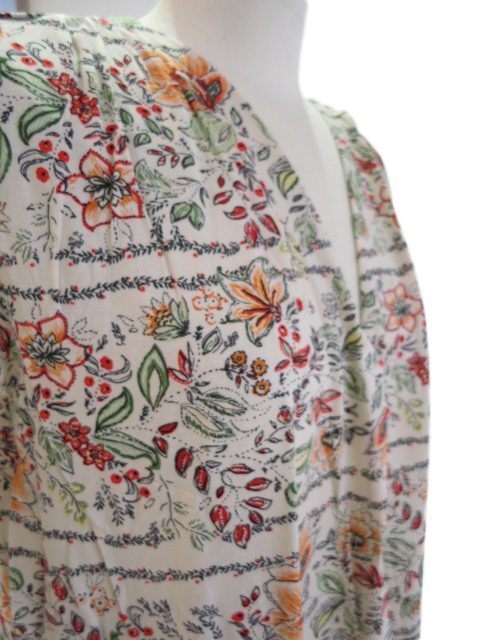 """<strong><font color=""""#ff0033"""">50%OFF!!</font></strong>Desigual デシグアル 花柄パネルプリントV開きTOPS 21SWTK68"""