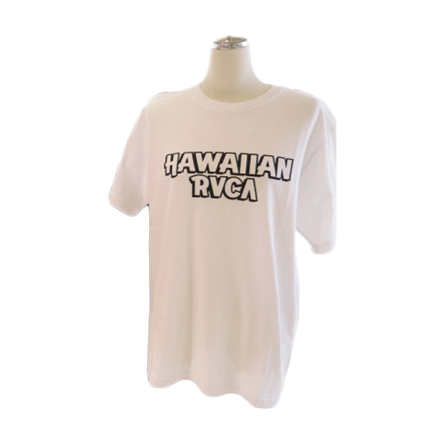 """<strong><font color=""""#ff0033"""">30%OFF!!</font></strong>RVCA メンズ ハワイアンロゴTシャツ BB041257"""