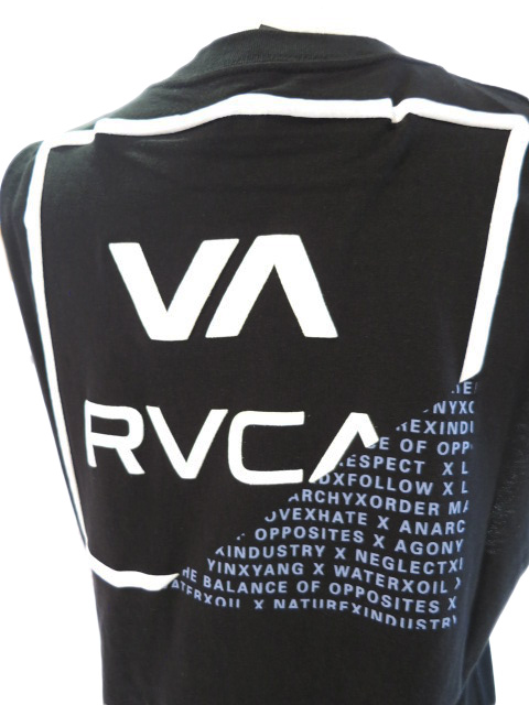 """<strong><font color=""""#ff0033"""">30%OFF!!</font></strong>RVCA 脇オープンシールロゴタンクトップ BB043384"""