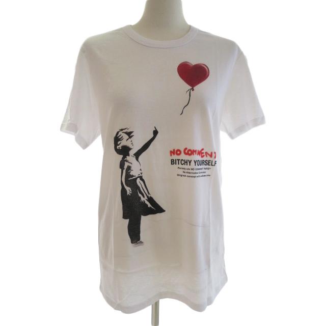 NO COMMENT ノーコメント M-CREW JP love balloon NC-TM.LTN265-1 メンズ Tシャツ