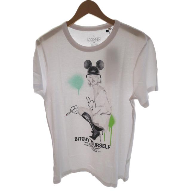 NO COMMENT ノーコメント M-CREW JP boots marilyn NC-TM.LTN269-1 メンズ Tシャツ