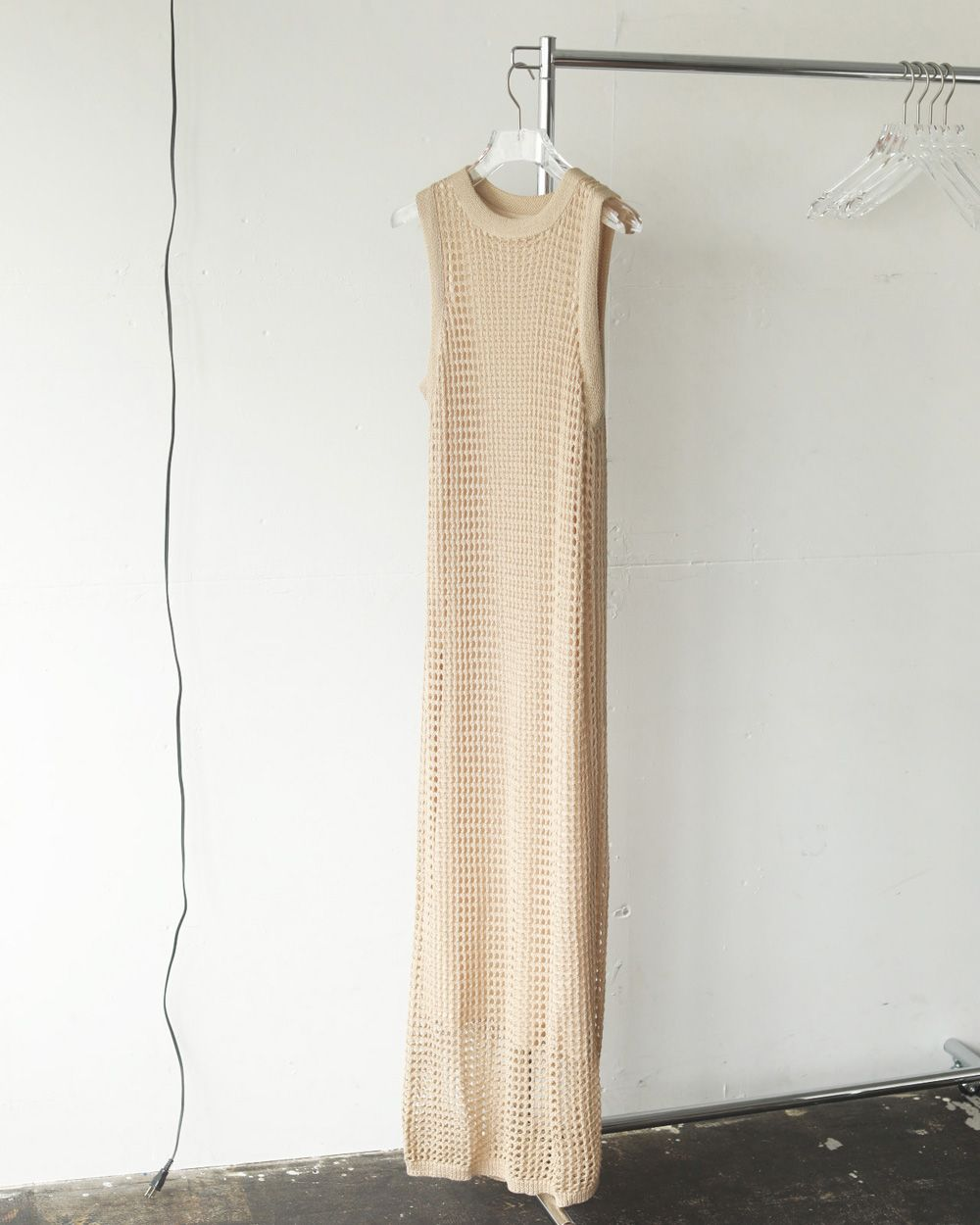 TODAYFUL Mesh Knit Dress 予約 12110303