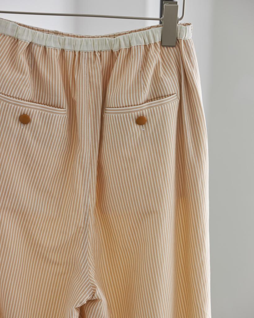 TODAYFUL Silkcotton Stripe Pants 12120708 予約