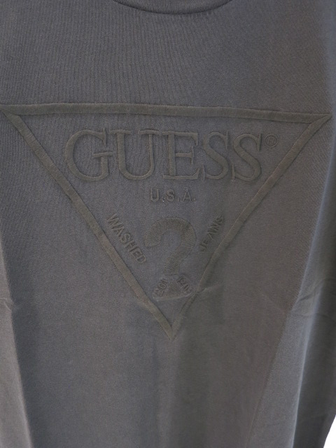 GUESS ゲス ES SS EMBROIDERED LOGO TEE M0BI1JR9YK0 メンズ Tシャツ